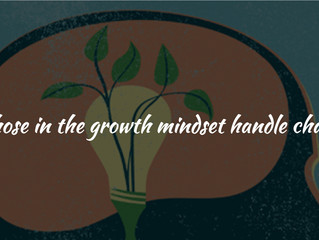 How Those in the Growth Mindset Handle Challenges
