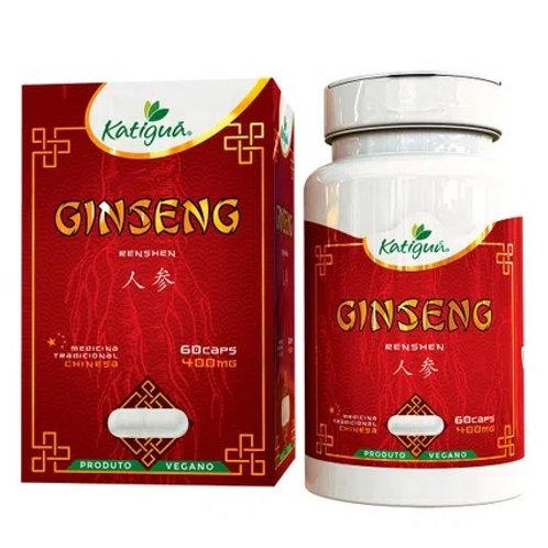 Ginseng (400mg) 60 cápsulas vegetarianas - katiguá