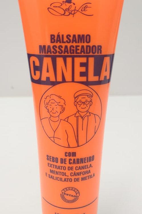 BALSAMO MASSAGEADOR CANELA com sebo de carneiro 150g