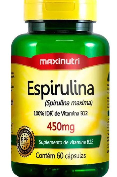 ESPIRULINA MAXINUTRI 60 CAPSULAS