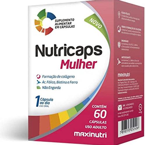 NUTRICAPS MULHER 60 CAPSULAS