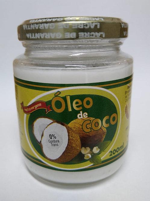 Óleo de coco extra virgem 200ml
