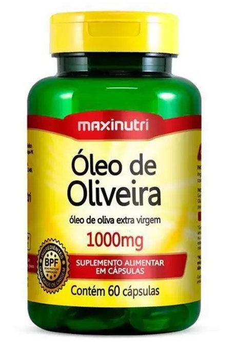 ÓLEO DE OLIVEIRA MAXINUTRI 60 CAPSULAS