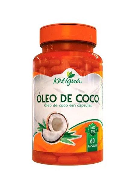 ÓLEO DE COCO (1000mg) 60 cápsulas - katiguá