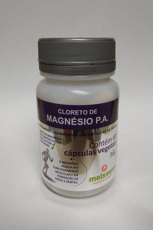 Cloreto de Magnésio PA 60 cápsulas - Meissen
