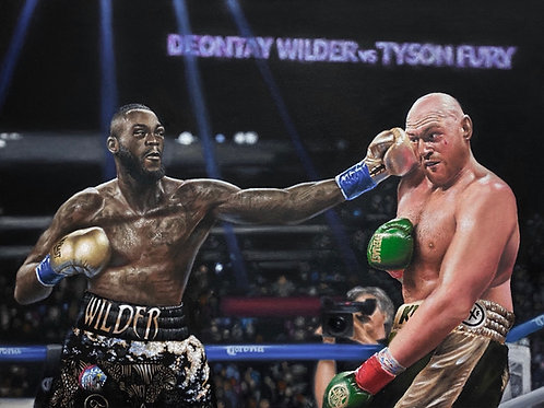 A2 wilder vs fury print