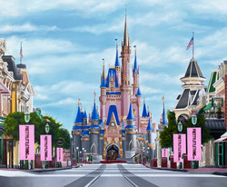 Disney castle Finished