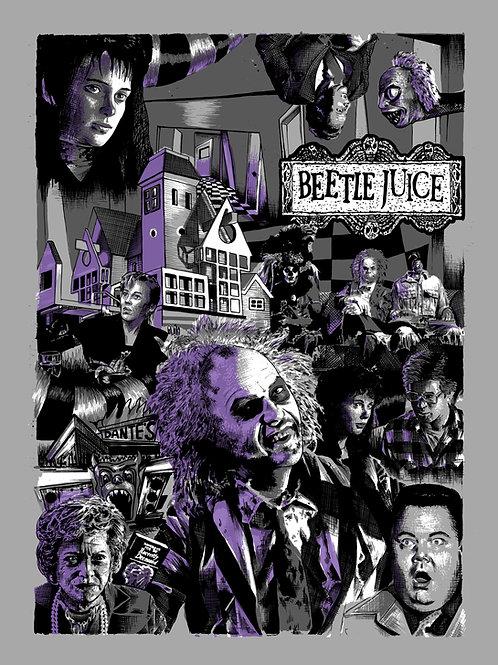BeetleJuice Print (A3)