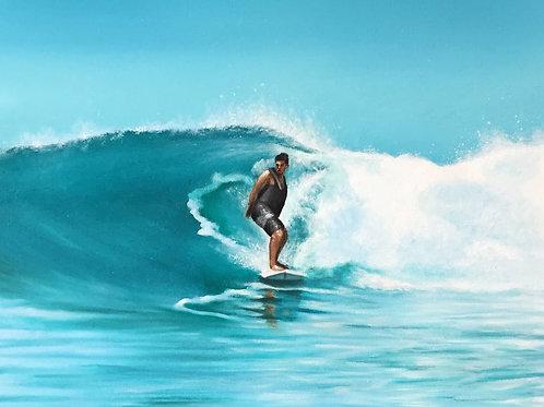 Surf Print (A3)