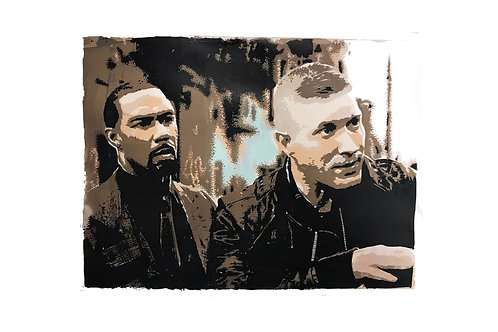 Ghost & Tommy A2 (limited silk screen print)
