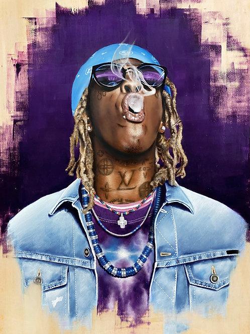 Young Thug Print (A3)