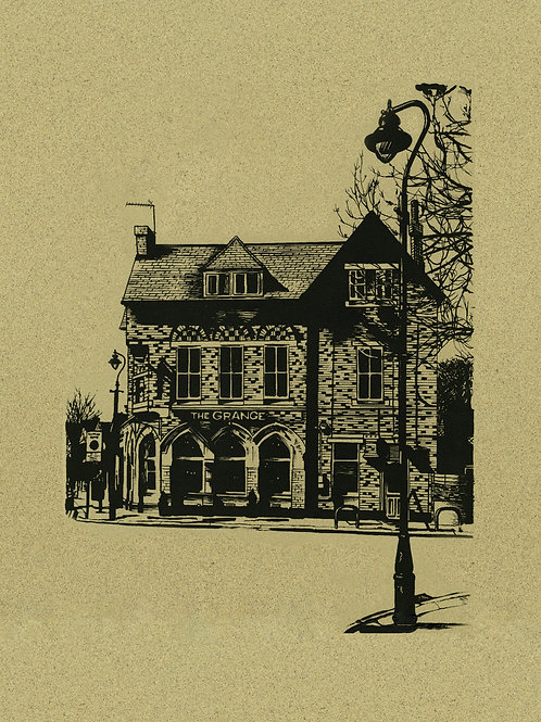 The Grange A2 (limited silk screen print)