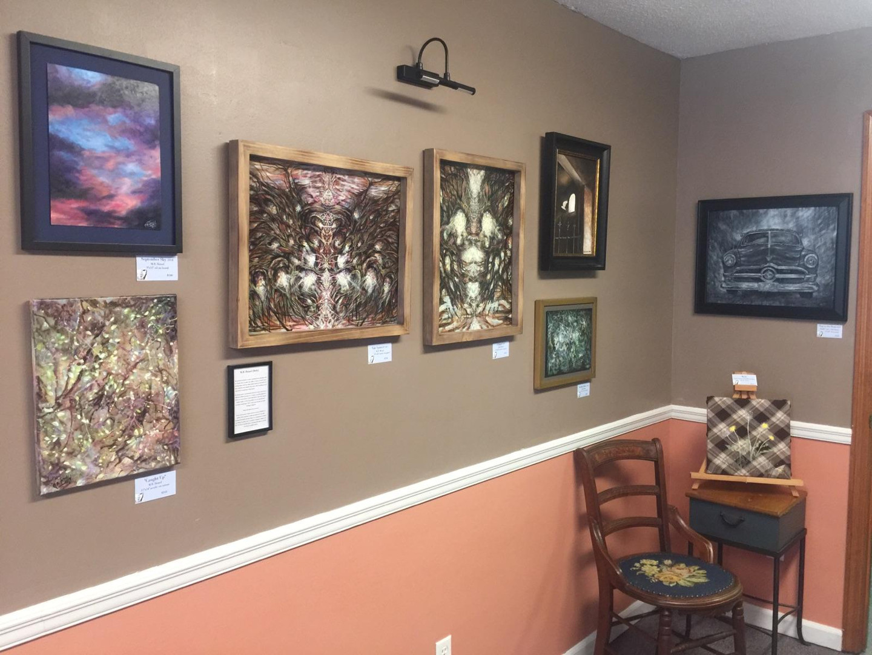 gallery wall  Feb 2019