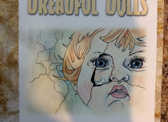 """Colorful Tales of Dreadful Dolls"" Coloring Book"