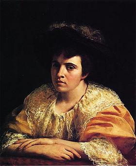 L.B. (Lila) Hetzel portrait by George He