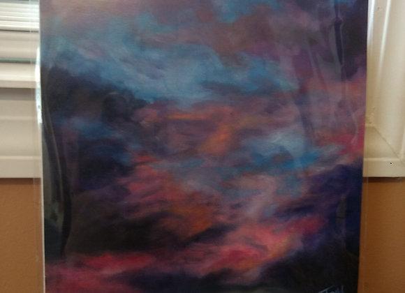 """""""September Sky"""" 8""""x10"""" Art Print"""