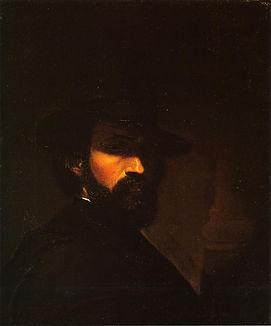 George Hetzel Self Portrait