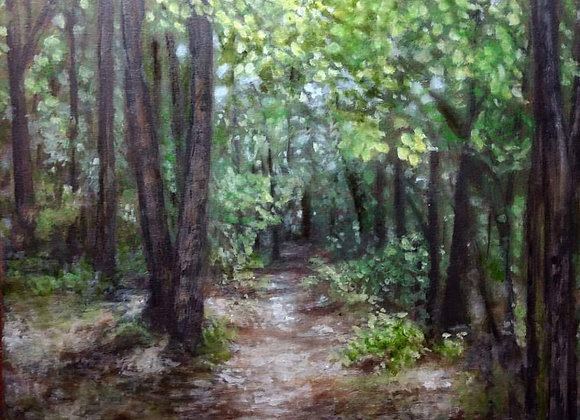 """""""Wooded Path"""""""