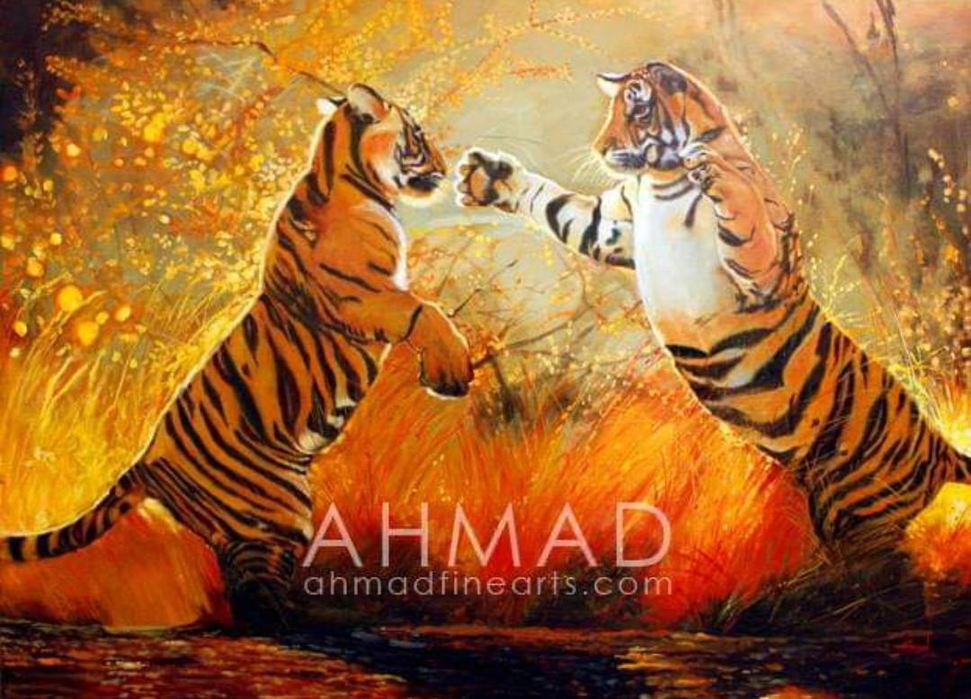 """Leaping Tigers"" Abdul Ahmad"