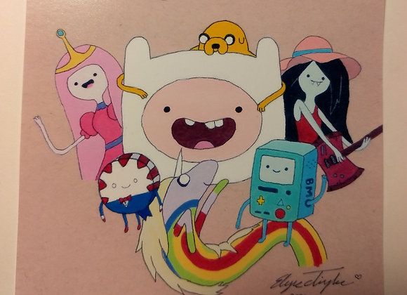 """Adventure Time"" art print"