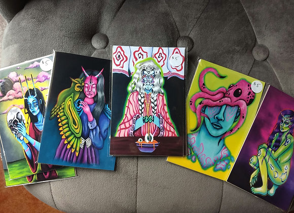 "4""x6"" Zena Gottholm prints"