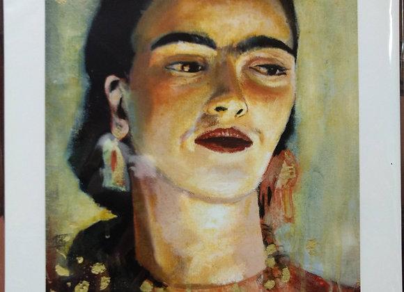"""Frida in Gold Flake"""
