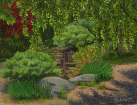 Japanese Garden at Fletcher Park Lin Buc