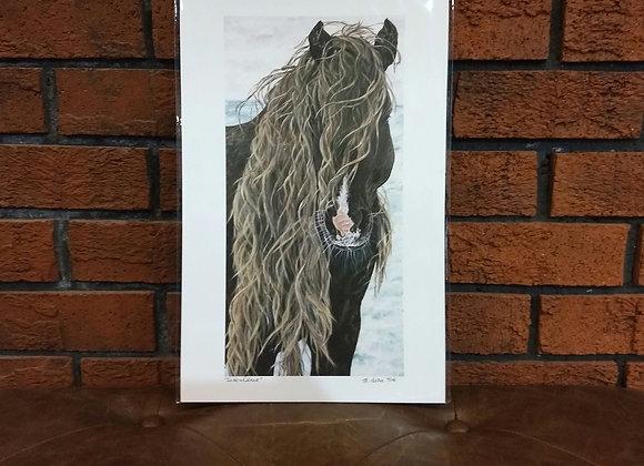 """Sable Island"" art print"