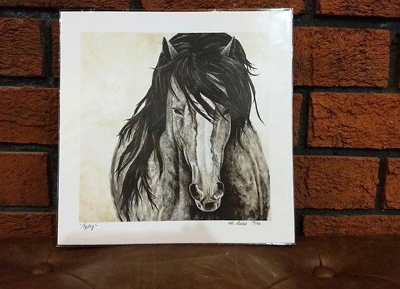 """""""Gypsy"""" art print"""