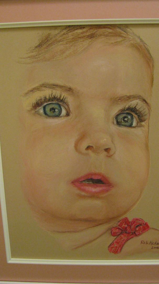 commissioned pastel portrait (in progres