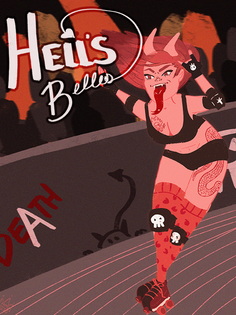 Hell's Belles Variant Cover