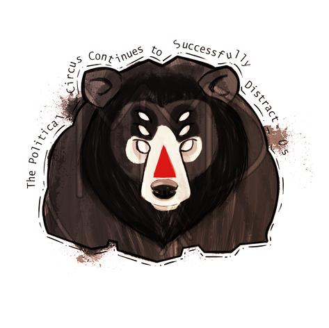 Political Circus Bear