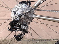 Kokopelli Titanium Bike with gears