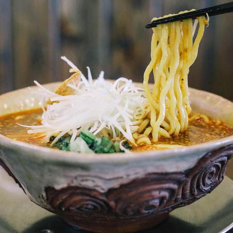 さんち〜工芸と探訪〜                                     新潟の縄文土器タンタン麺が熱い 店主「凄いものができた」