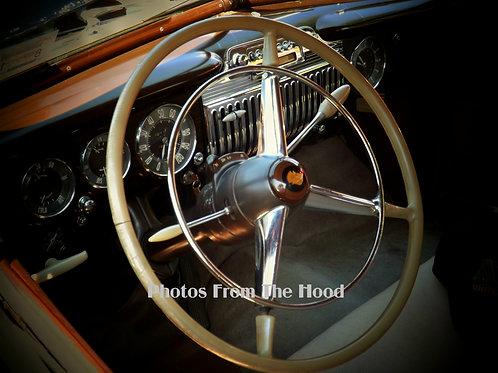 40's Cadillac Interior