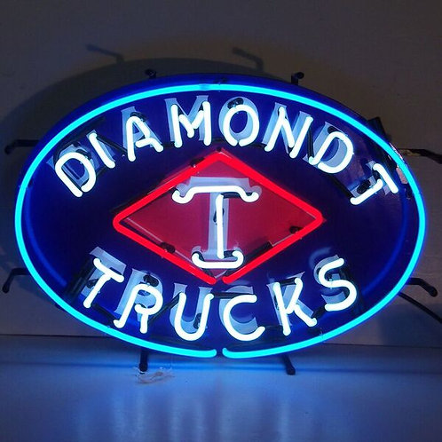 Diamond T Trucks Neon Sign