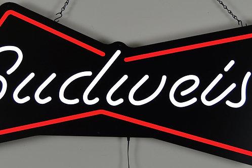 """Budweiser Bowtie  36"""" Round Neon Sign"""