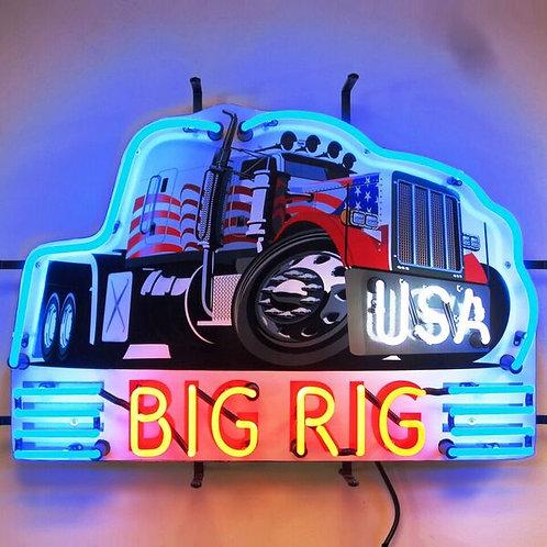 Big Rig Neon Sign