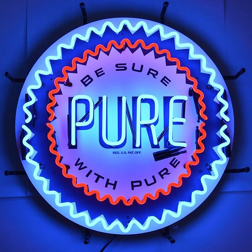 Pure Gas Neon Sign