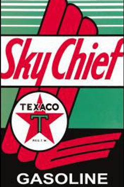 Sky Chief Metal Sign