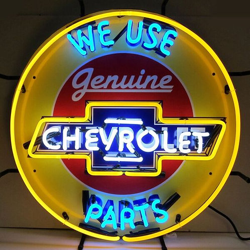Genuine Chevy Parts Neon Sign