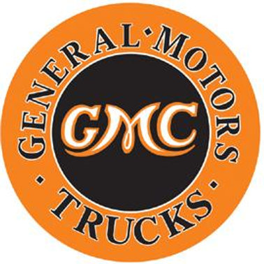 GMC Trucks Metal Sign