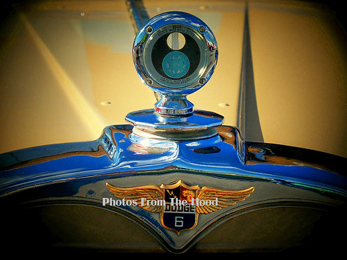 Dodge Thermometer Hood Ornament