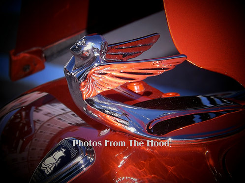 '33 Plymouth Hood Ornament