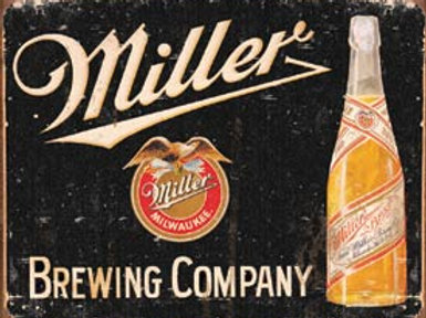 Miller Brewing Company Metal Sign
