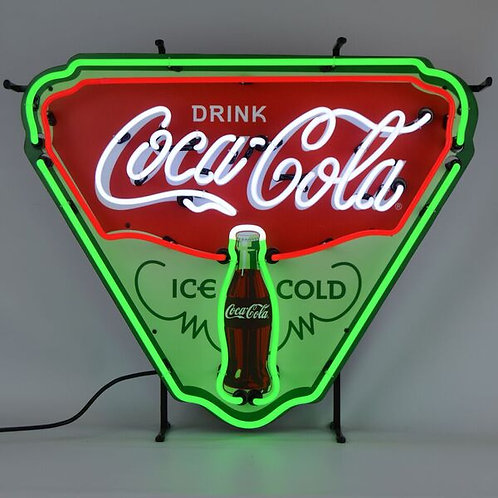 Coke Ice Cold Neon Sign