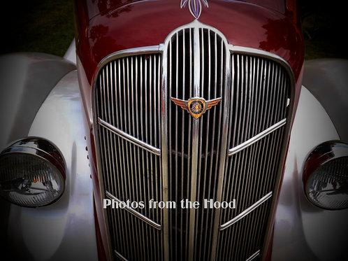 '38 Dodge Grill