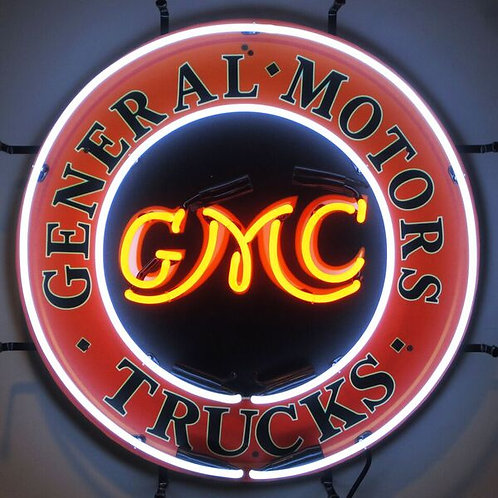 GMC Trucks Neon Sign