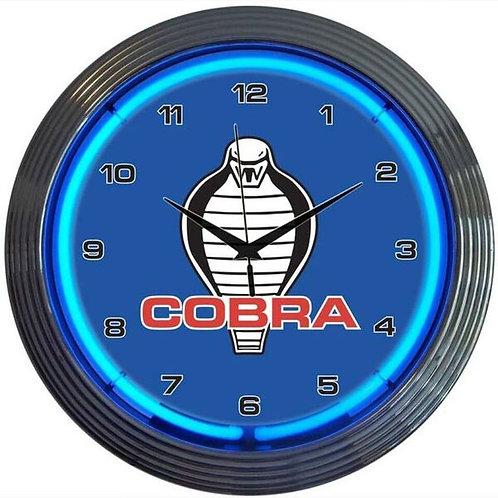 Cobra Neon Clock