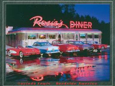Rosie's Diner Metal Sig